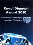 1. preis knauf diamant award 2010
